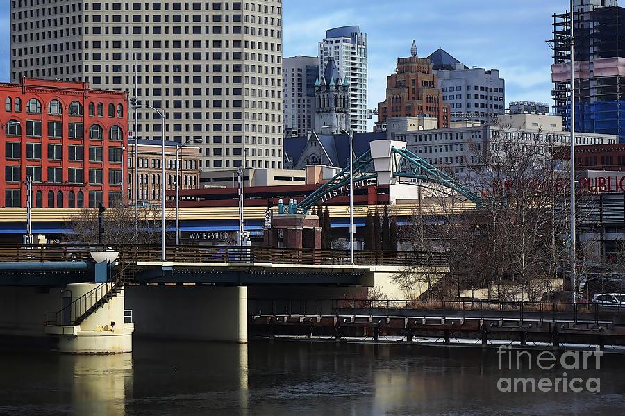Milwaukee Digital Art - Gateway to Third Ward by David Blank