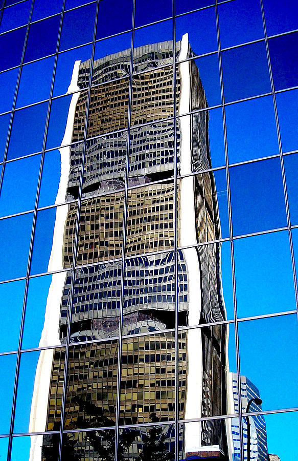 North America Photograph - Downtown Montreal by Juergen Weiss