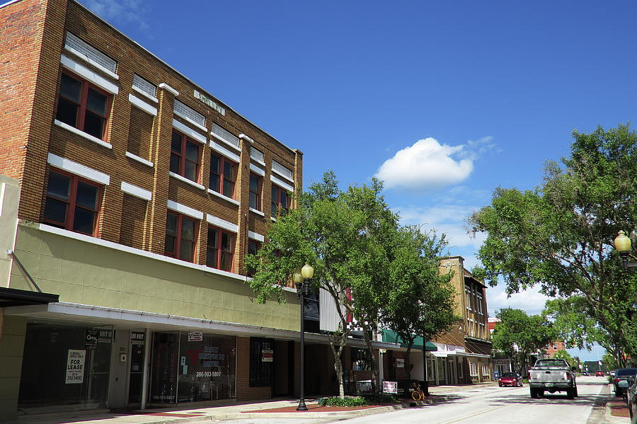 Downtown Palatka Florida Photograph by Roger Epps