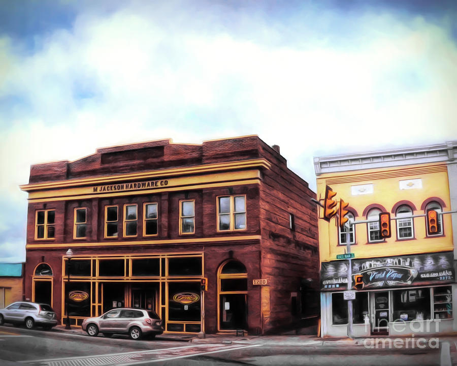 Downtown Radford - Historic Buildings on