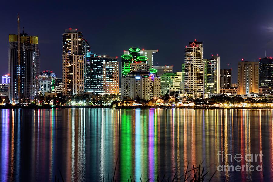 Downtown Photograph - Downtown San Diego by Eddie Yerkish