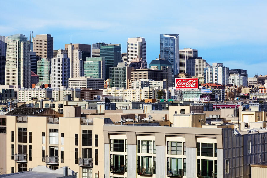 San Francisco Photograph - Downtown San Francisco by Kelley King