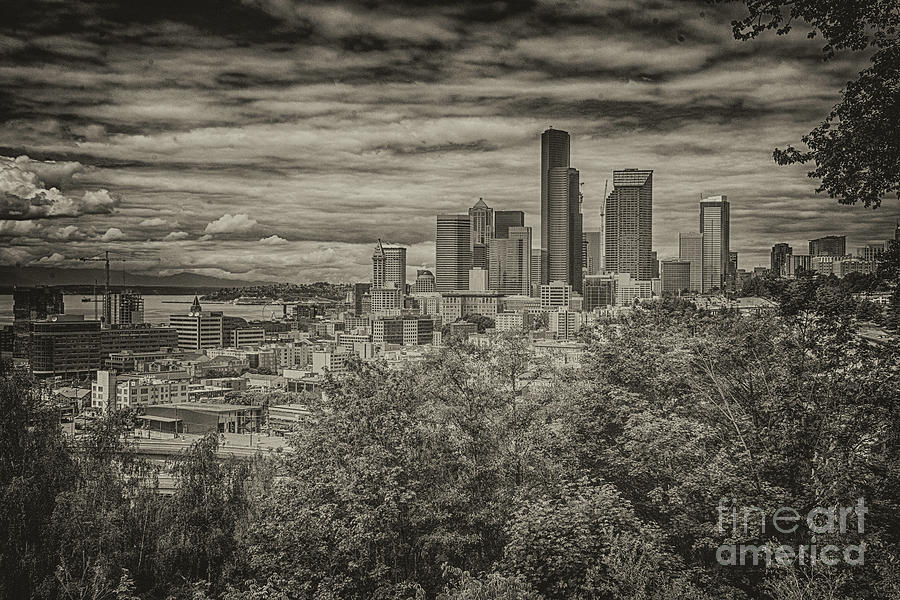Seattle in Black and White by John Greco