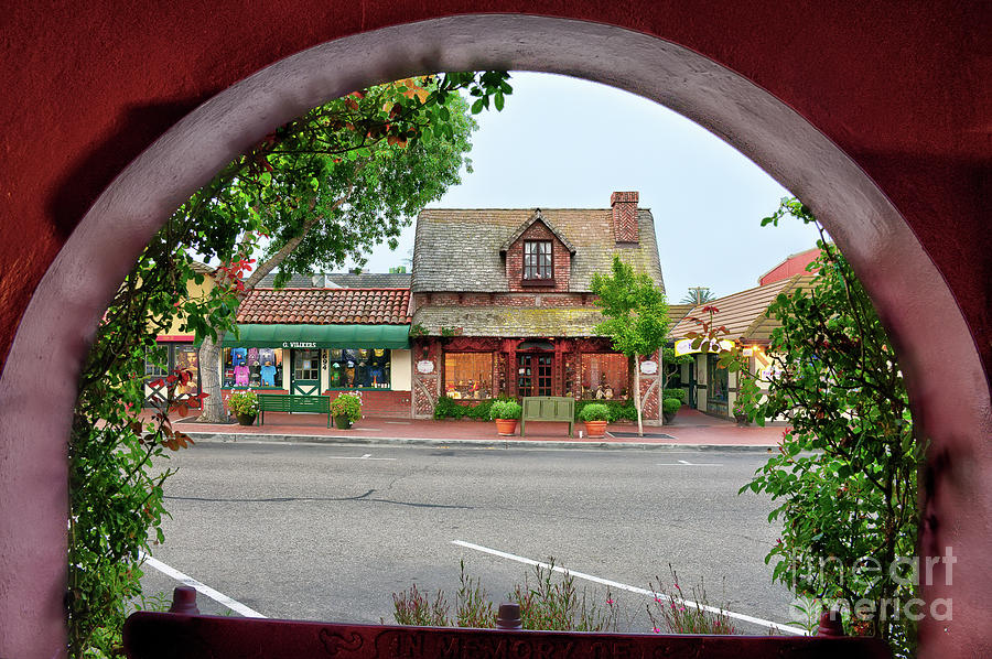 Downtown Solvang by Eddie Yerkish