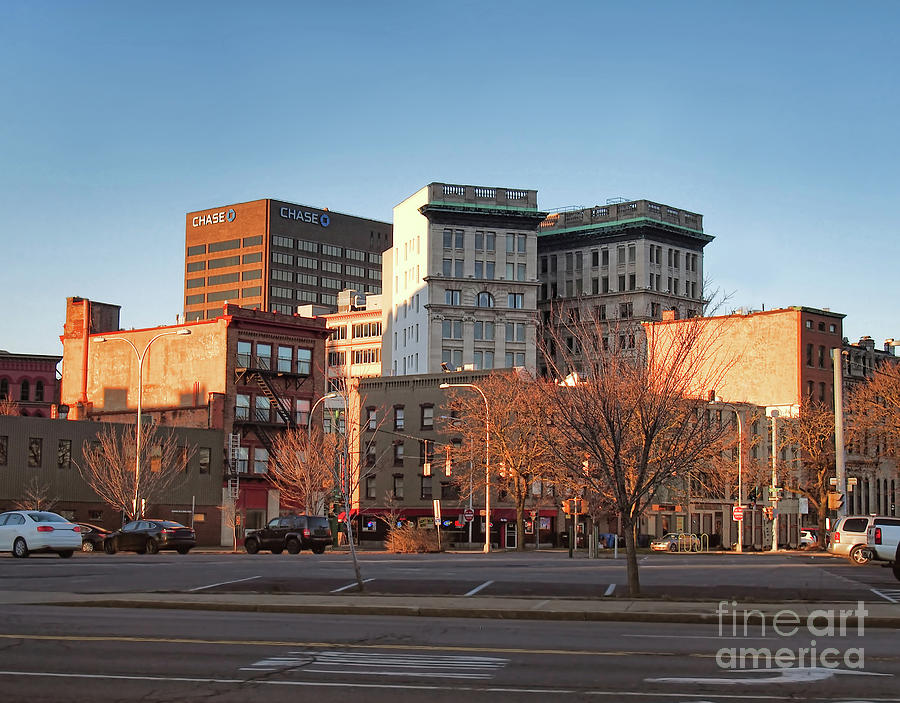 City Photograph - Downtown Syracuse by Debra Millet