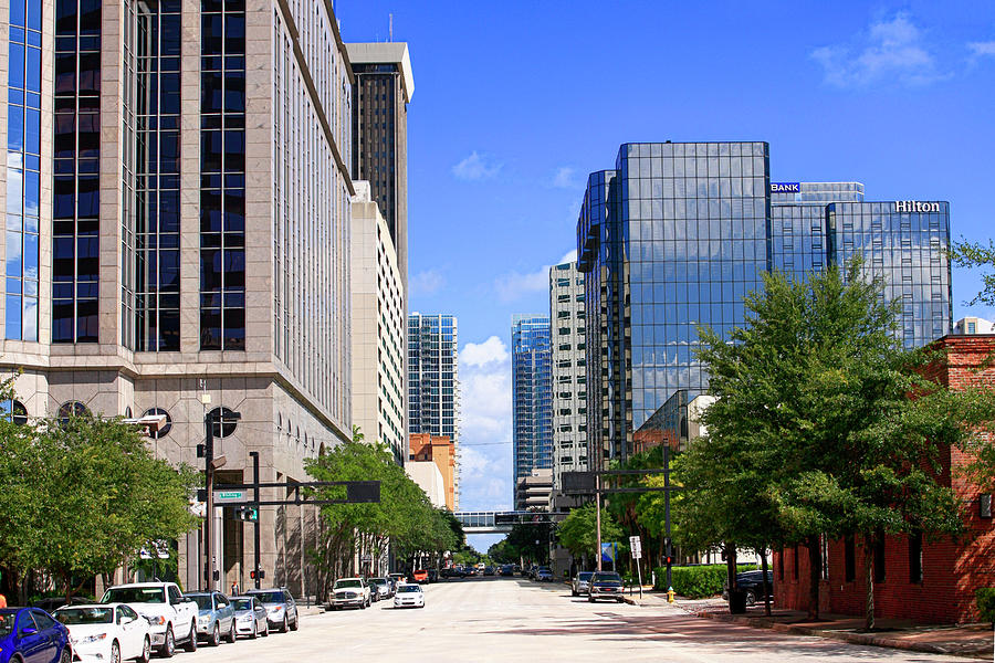 Downtown Photograph - Downtown Tampa Fl, Usa by Chris Smith