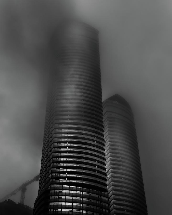 Downtown Toronto Fogfest No 20 Photograph