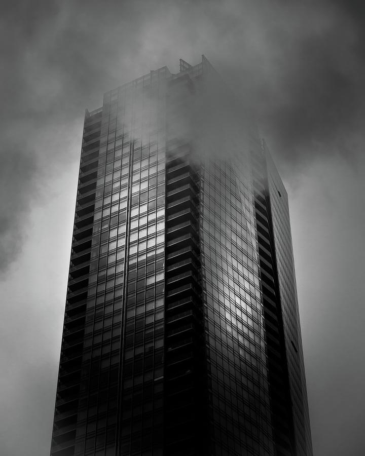 Downtown Toronto Fogfest No 24 Photograph
