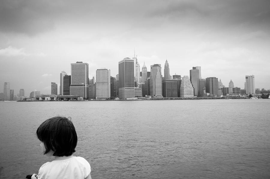 Nyc Photograph - Downtown Views  by Robert J Caputo
