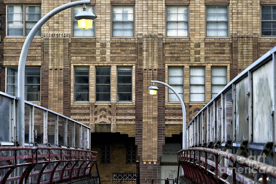 Walkway Photograph - Downtown Walkway by John Rizzuto