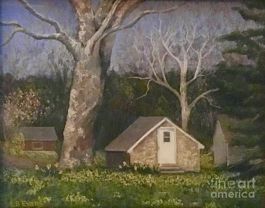 Doylestown Spring House  by Lynda Evans