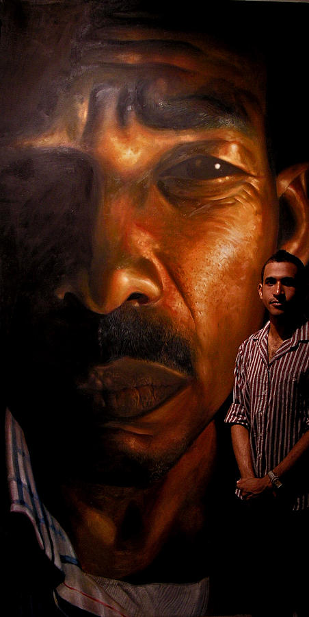 Portrait Painting - Dr. Antonio by Kamalky Laureano