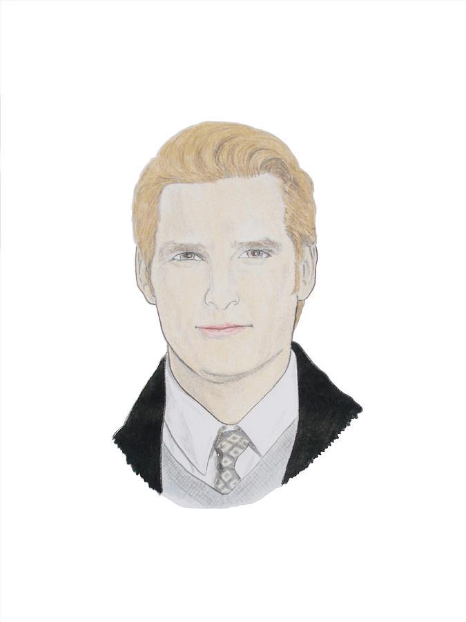 Dr Carlisle Cullen Drawing - Dr Carlisle Cullen - Peter Facinelli by Michael Dijamco