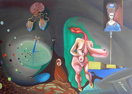 Israel Painting - Dr Fernan by Kosta