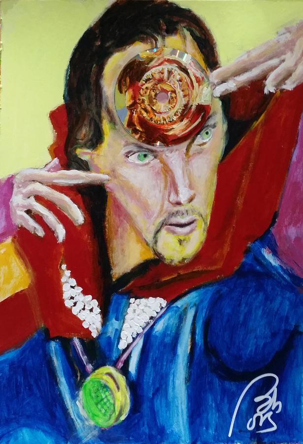 Memory Painting - Dr. Strange by Bachmors Artist