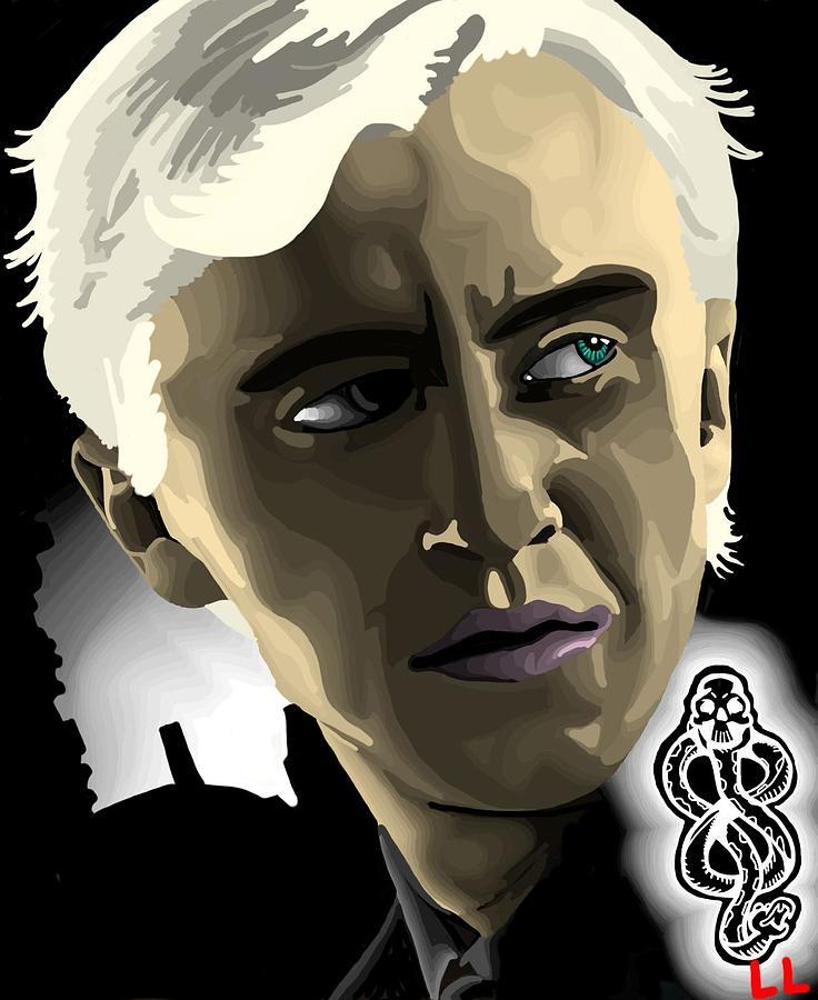 Draco Digital Art - Draco by Lisa Leeman