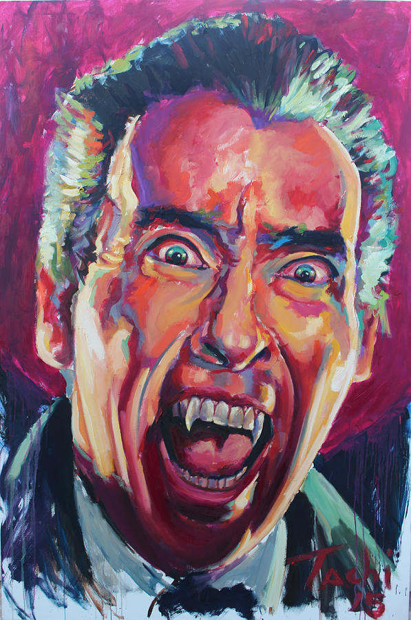 Dracula - Christoper Lee by Tachi Pintor