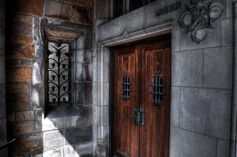 Ann Arbor Photograph - Draculas Back Door by Chris Fleming