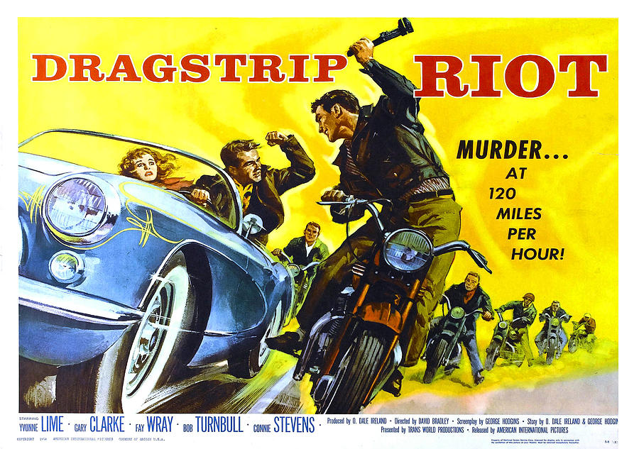 Movie Photograph - Drag Strip Riot by Poster Art