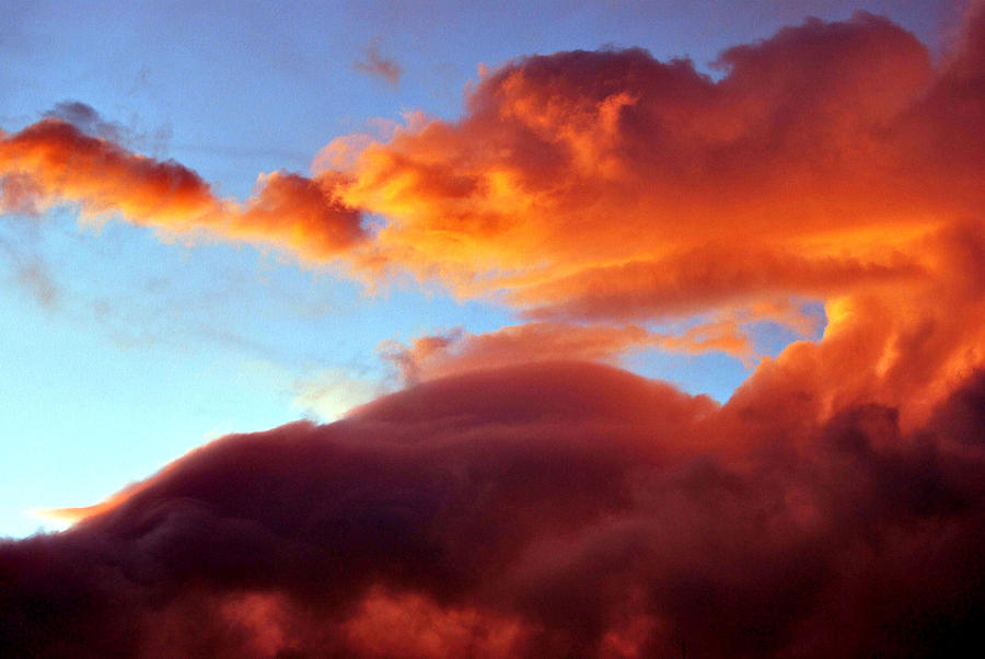 Clouds Photograph - Dragon Cloud by Marilynne Bull
