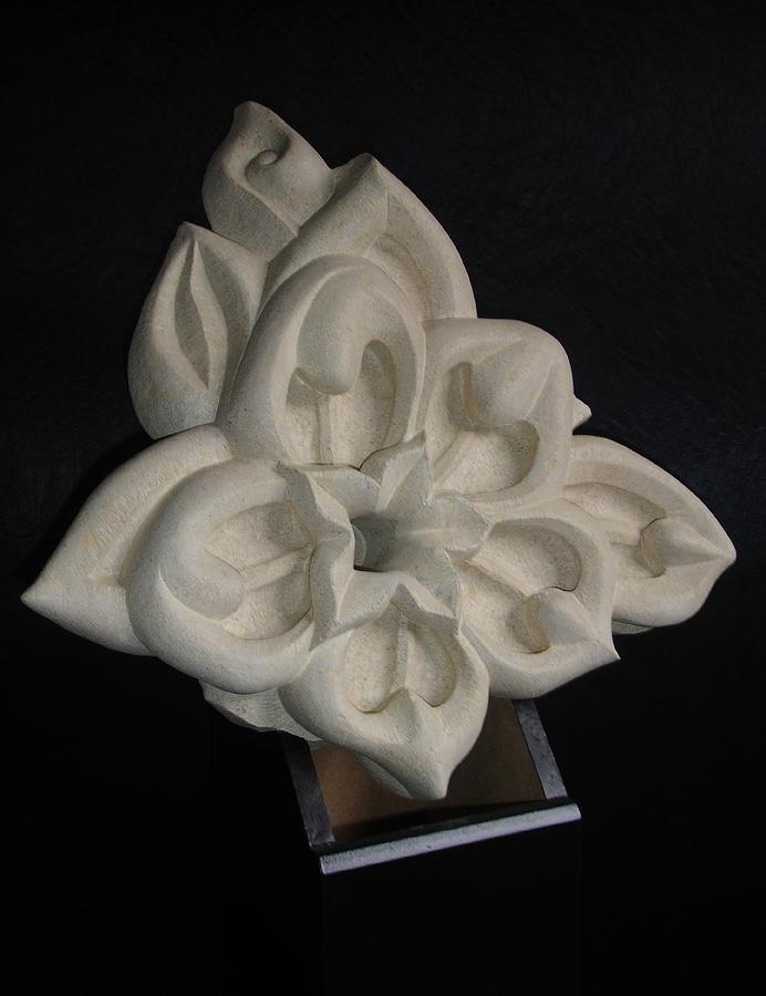 Sculpture Sculpture - Dragon Flower by Paul Holbrecht