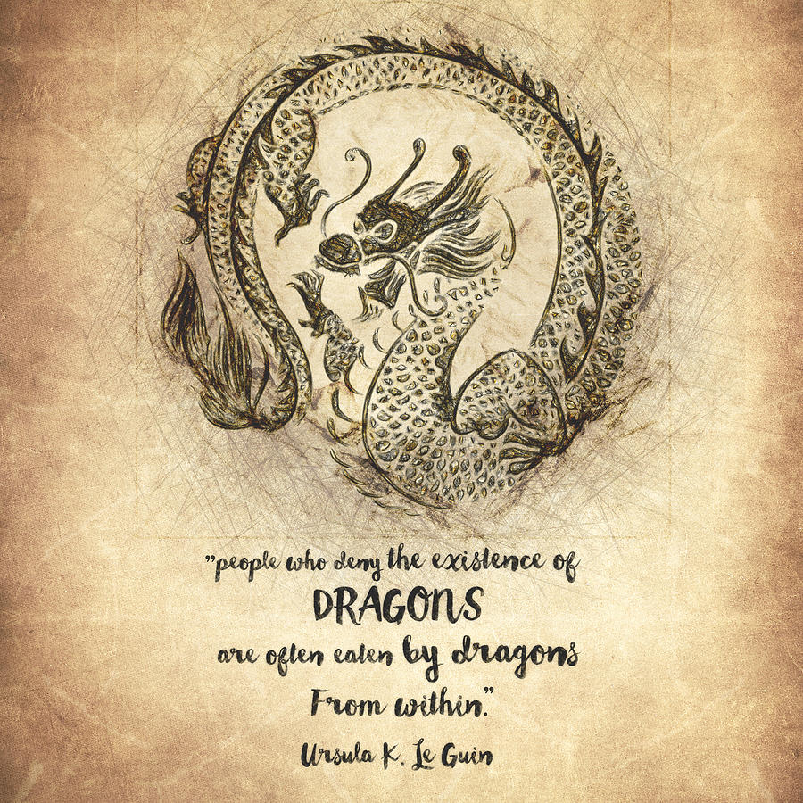 There Be Dragons Quote