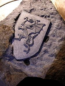 Dragon Shield Sculpture by Jerry Williams