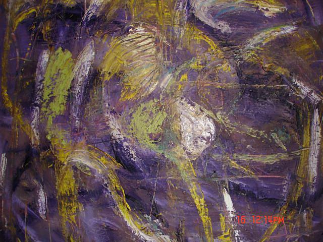 Abstract Painting - Dragonfly by Carol Massa