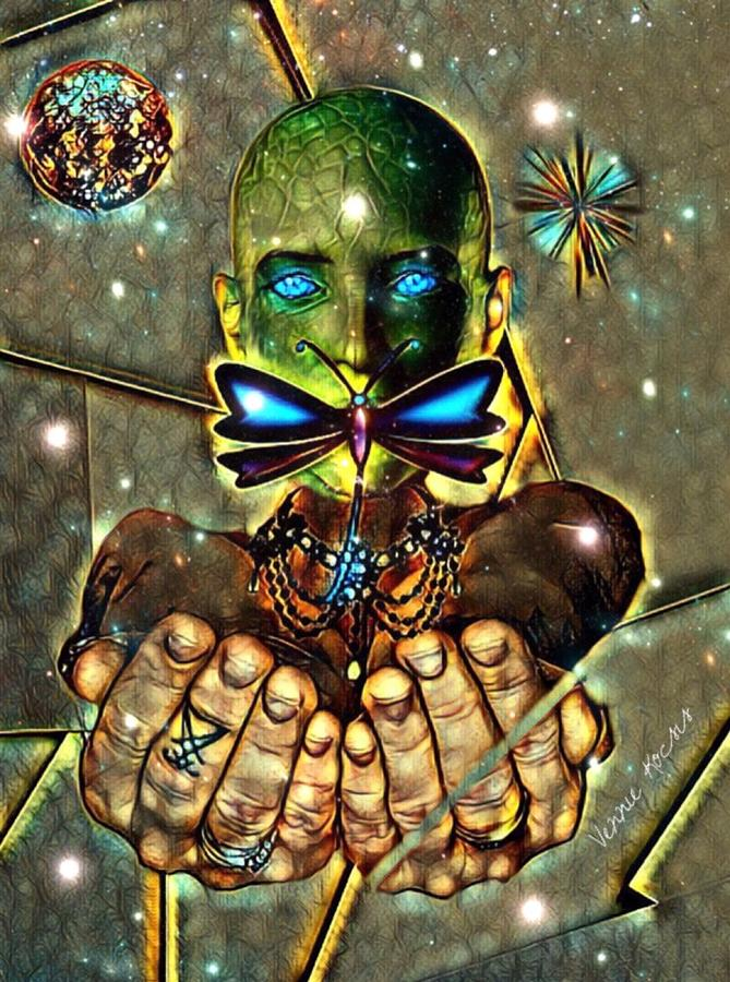 Dragonfly Empath by Vennie Kocsis