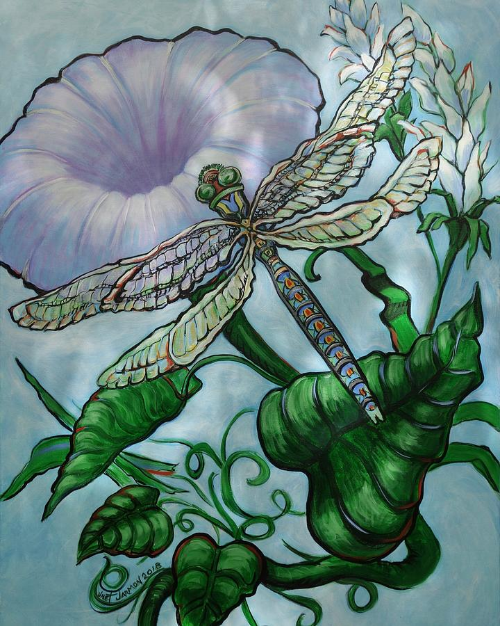 Dragonfly in Sun by Jeanette Jarmon