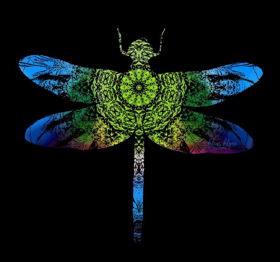 Dragonfly Kaleidoscope by Deleas Kilgore