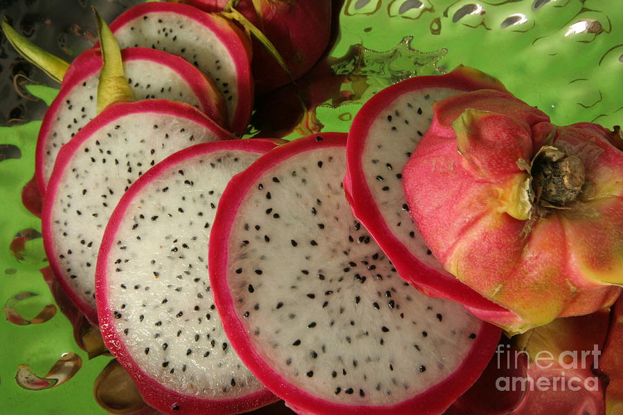 Colors Photograph - Dragonfruit  by Christine Amstutz
