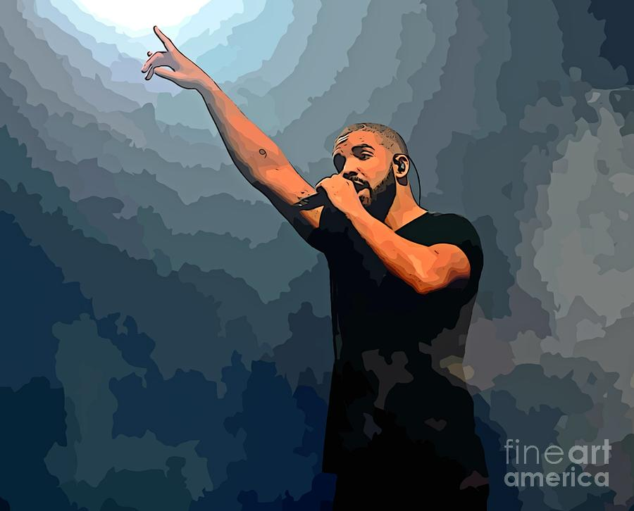 Drake Abstract Art Photograph