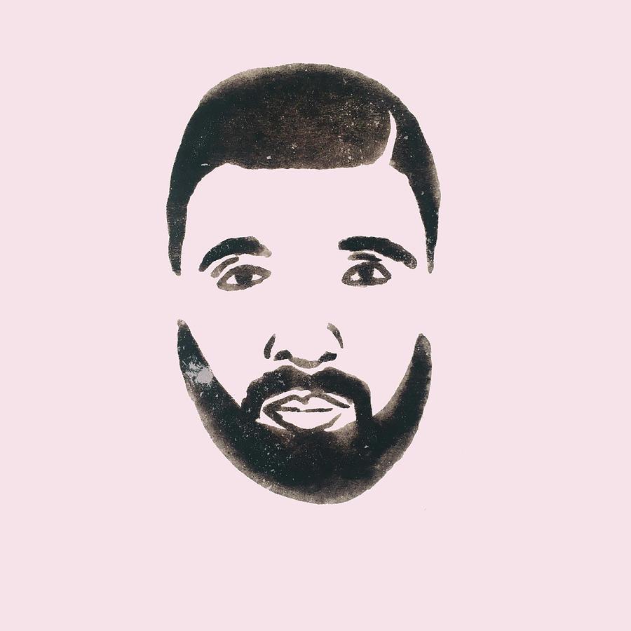 Drake Drawing - Drake by Cortney Herron