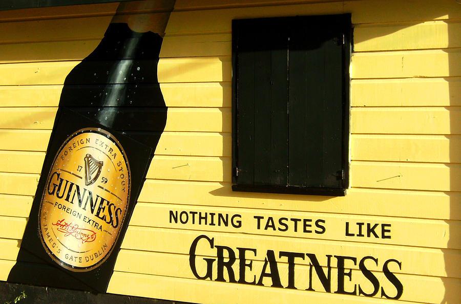 Guinness Photograph - Drakes Bar by Barbara Marcus