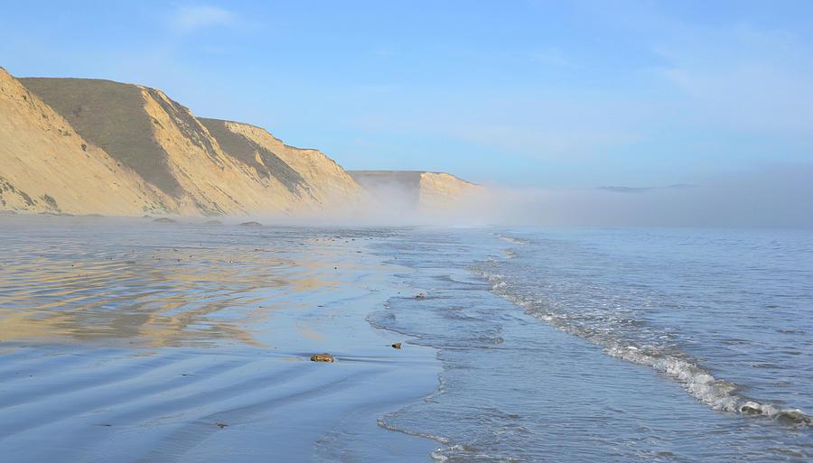 Beach Photograph - Drakes Beach, Pt. Reyes by D Patrick Miller