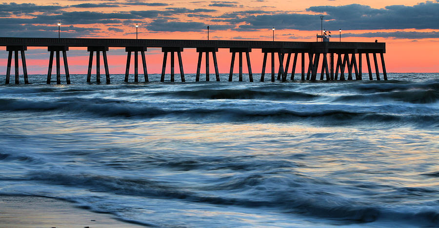 Wrightsville Beach Photograph - Drama Class by JC Findley