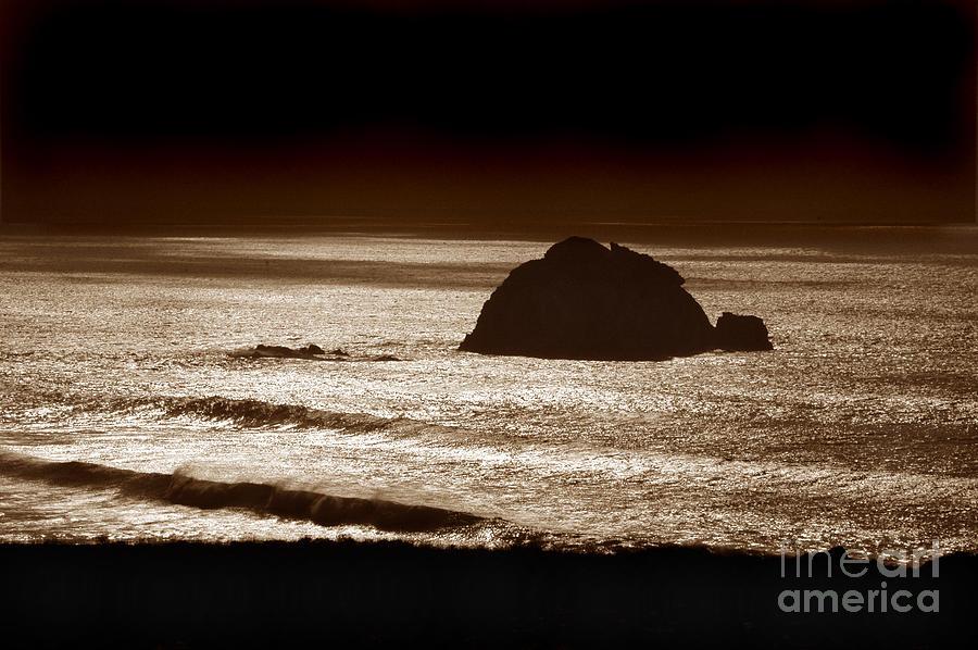 Big Sur Photograph - Drama On Big Sur by Michael Ziegler
