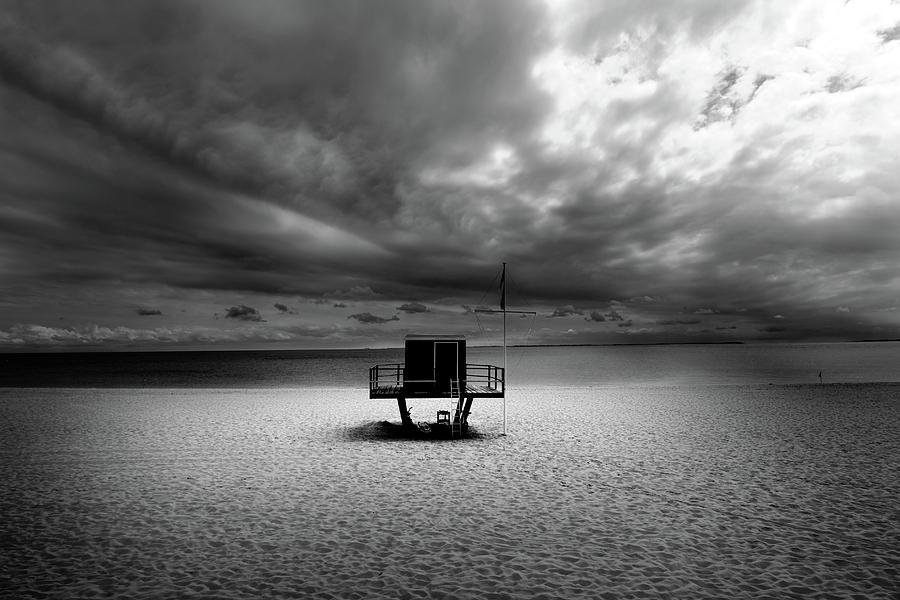 Beach Photograph - Dramatic Beach by Marc Huebner