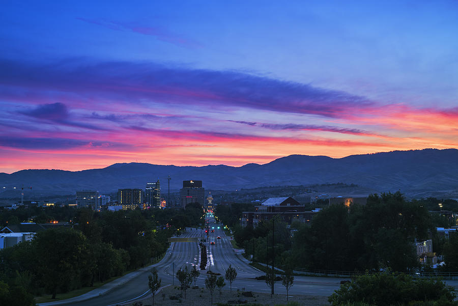 Image result for Boise sunrise