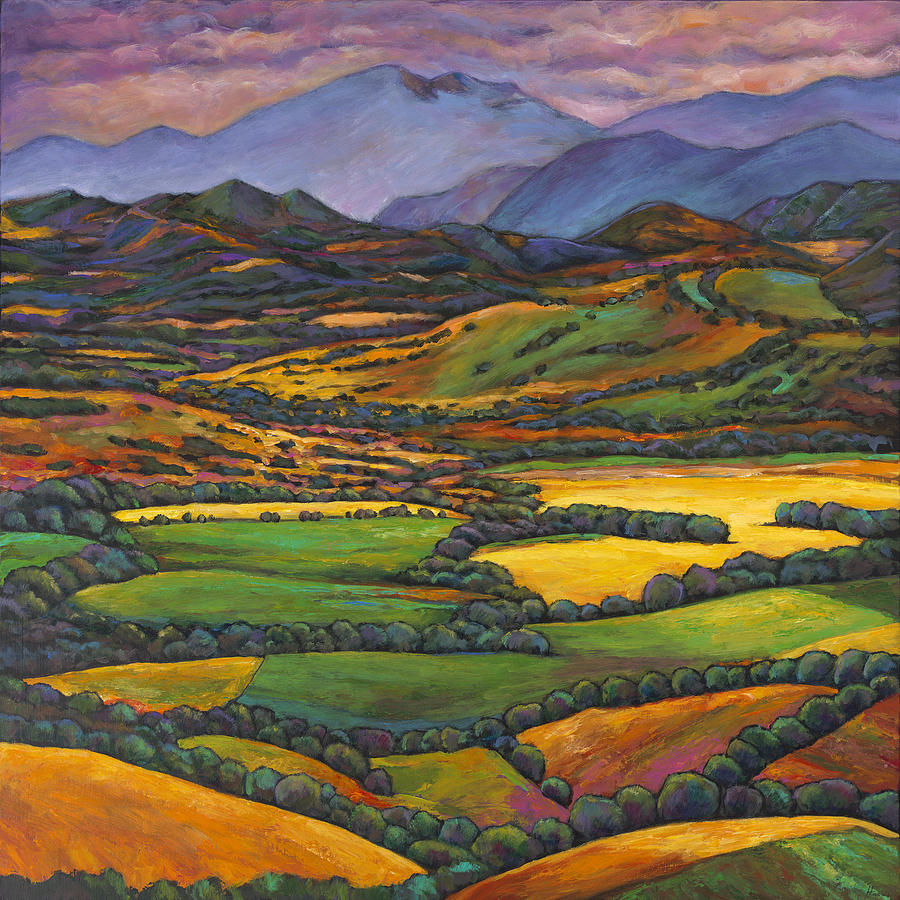 European Landscape Painting - Draped In A Dream by Johnathan Harris