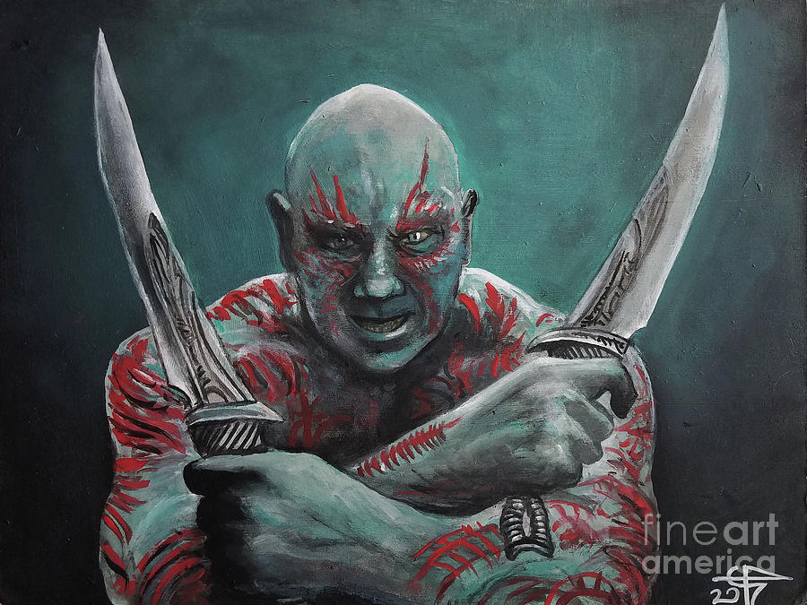 Drax The Destroyer by Tom Carlton