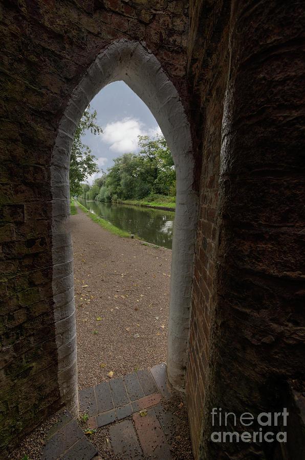 Drayton Photograph - Drayton Footbridge by Steev Stamford