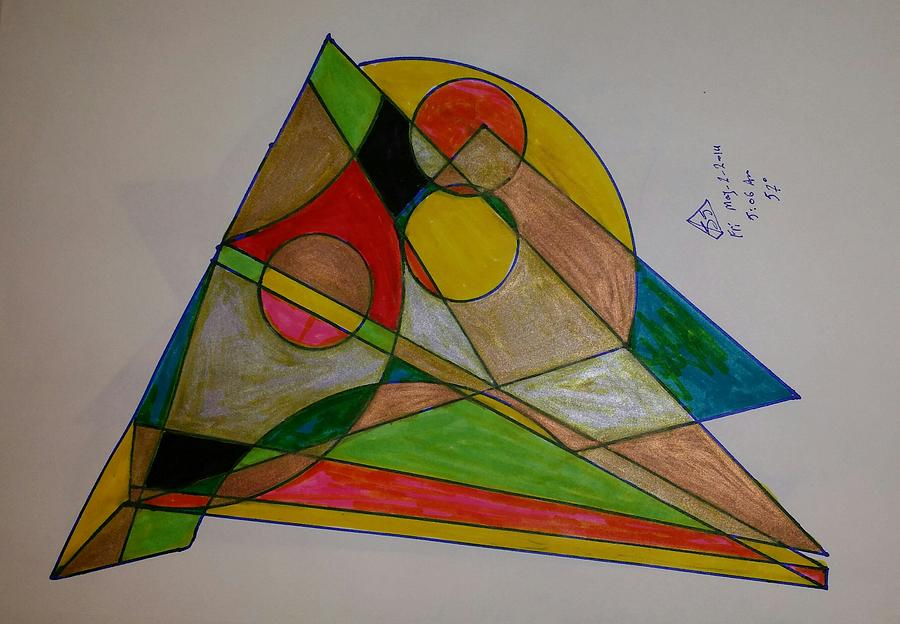 Cubism Glass Art - Dream 1 by S S-ray
