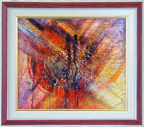 Abstract Painting - Dream Abisal by Voineagu  Ion