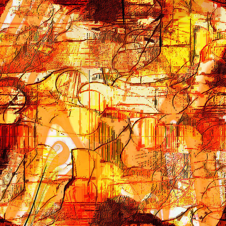Digital Digital Art - Dream Abstract by Ilona Burchard