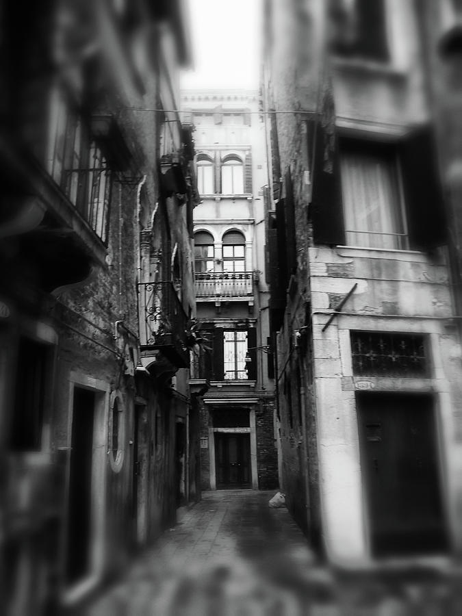 Dream Alleyway - Venice Photograph