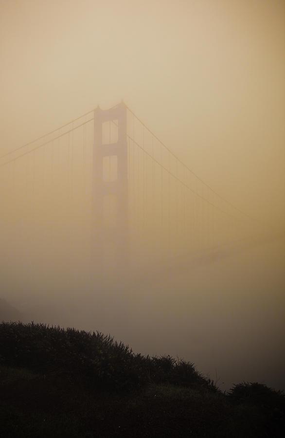 Golden Gate Bridge Photograph - Dream Bridge by Patrick  Flynn