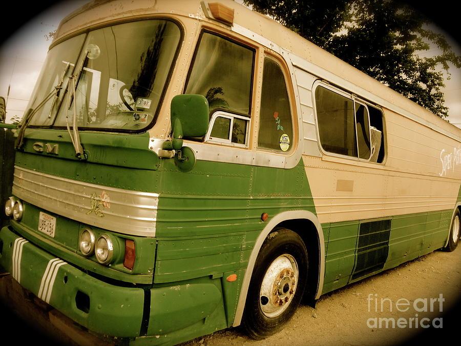 Bus Photograph - Dream Bus by Chuck Taylor