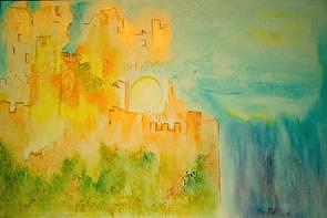 Magic Painting - Dream Castle by Barbara Reale